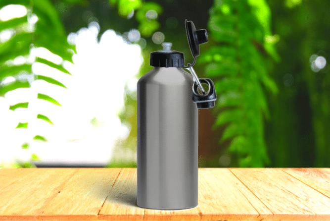 Alu-Trinkflasche Design ohne Druck
