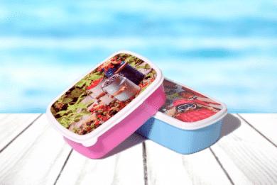Brotdose mit Foto selbst Gestalten