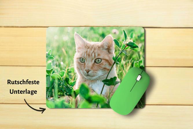 Mousepad mit Foto Design Mitte