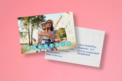 Postkarte im Selbstversand selbst Gestalten