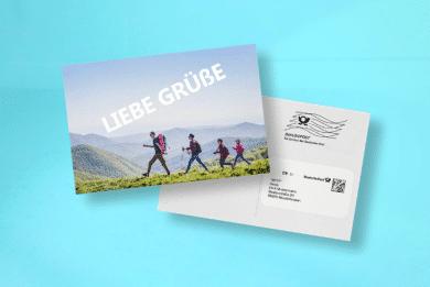 Postkarte mit Direktversand selbst Gestalten
