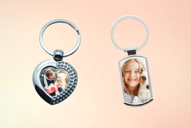 Schlüsselanhänger mit Foto selbst Gestalten