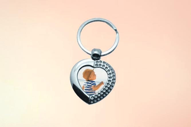 Schlüsselanhänger mit Foto Design Links