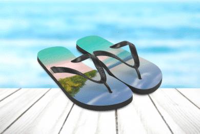 Strand-Sandalen mit Foto selbst Gestalten