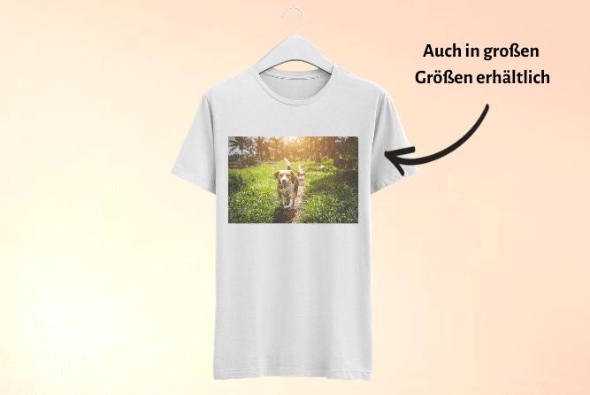 T-Shirt mit Foto Design Mitte