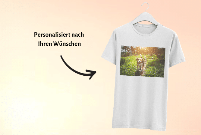 T-Shirt mit Foto Design Rechts