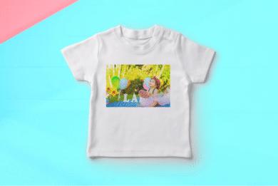 Baby T-Shirt mit Foto selbst Gestalten