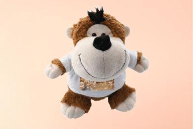 Kuscheltier Affe mit Foto selbst Gestalten