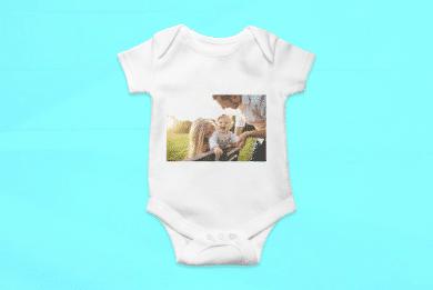 Baby Body mit Foto selbst Gestalten