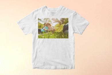 Kinder T-Shirt mit Foto selbst Gestalten