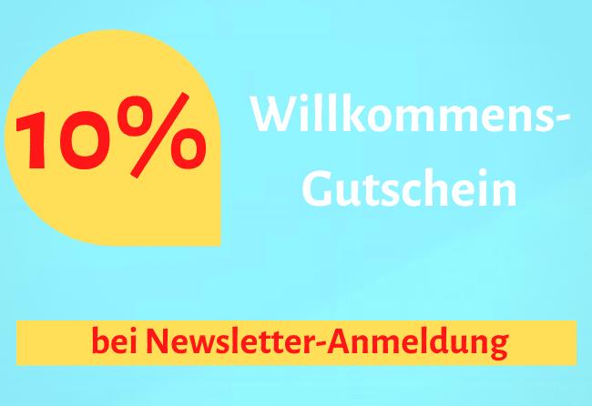 Newsletter Abonnieren - 10% Rabatt
